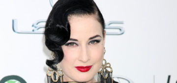 Dita Von Teese: 'I think anybody who throws the Kardashians shade is just jealous'