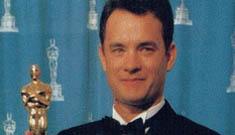 """How to accept an Oscar"" starring Tom Hanks"