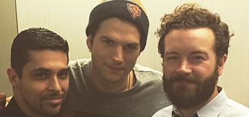Ashton Kutcher posts pic of unofficial '70s Show' reunion, is coming back to TV
