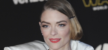 Jaime King in Monse at 'Star Wars' premiere: theme-dressing goes wrong?