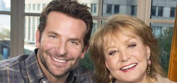 Barbara Walters to 'fascinating' Bradley Cooper: 'I find you very screwable'