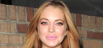 Lindsay Lohan & Aliana Lohan are so mad at Jennifer Lawrence right now