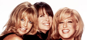 Goldie Hawn, Bette Midler & Diane Keaton will be reuniting on screen