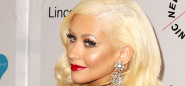 """Christina Aguilera was a drunk disaster at Seth McFarlane's holiday party"" links"