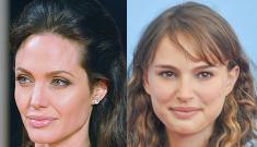 Is Angelina Jolie jealous of Brad's 'cute' co-star Natalie Portman?