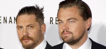 Leo DiCaprio & Tom Hardy premiere 'The Revenant' in LA: grumpy or hot?