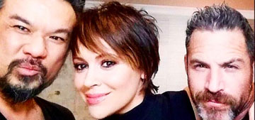 Alyssa Milano got a pixie cut: cute or looks like Kris Jenner?