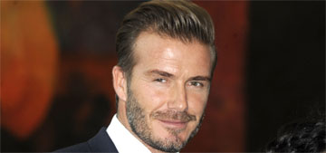 David Beckham to his son Brooklyn, 16, on Instagram: 'that's my jumper'