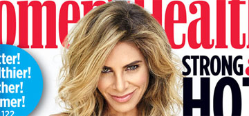 Jillian Michaels covers Women's Health: 'I'm so relatable because I hate to work out'