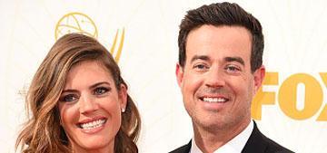 Carson Daly & Siri Pinter wed in an surprise ceremony after 10 years together
