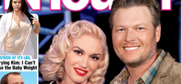 In Touch: Gwen Stefani, 46, somehow got pregnant with Blake Shelton's baby