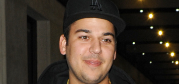 Rob Kardashian was hospitalized & diagnosed with diabetic ketoacidosis