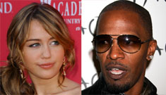 Jamie Foxx says Miley Cyrus needs to 'make a sex tape & grow up'