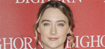 Saoirse Ronan on how to pronounce her name: 'It's Sir-shuh, like inertia'