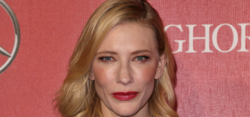 Cate Blanchett in pale Marc Jacobs at the PSIFF: ill-fitting or stunning?