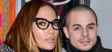 Jennifer Lopez gave Casper a tuxedo for Christmas, but dismisses wedding rumors