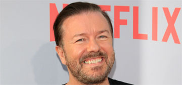 Ricky Gervais is gearing up to host the Golden Globes: excited or meh?