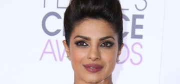 Priyanka Chopra in Vera Wang at People's Choice Awards: lovely or ill-fitting?