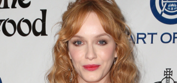 Christina Hendricks in Vivienne Westwood at the Art of Elysium gala: fab or fug?