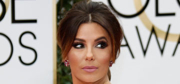 Eva Longoria in Georges Hobeika at the Globes: forgettable or fine?