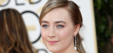 Saoirse Ronan in Saint Laurent at the Golden Globes: angelic or awful?