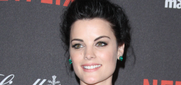 Jaimie Alexander in emerald Genny at the Golden Globes: best look of the night?
