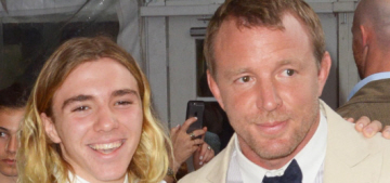 People: Guy Ritchie thinks Rocco left Madonna because Rocco is 'rebellious'