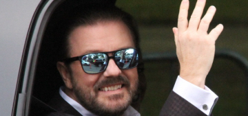 Ricky Gervais went on a Twitter rampage to claim he doesn't care what we think