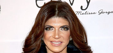 Teresa Giudice attends first post-prison event in fur, leather, snakeskin & Chanel
