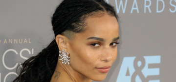 Was Zoe Kravitz the best dressed 'Mad Max' woman at the Critics' Choice?