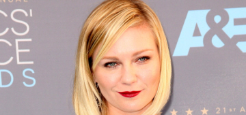 Kirsten Dunst in Chanel at the Critics' Choice Awards: elegant or overworked?