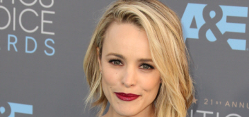Rachel McAdams in Elie Saab at the Critics' Choice: boring or beautiful?