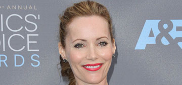 Leslie Mann in Monique Lhuillier at Critics' Choice: ballerina fug or gorgeous?