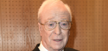 Michael Caine was a youthful 'piss artist': 'I used to drink a bottle of vodka a day'