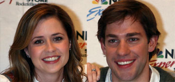 Jenna Fischer on acting with John Krasinski: 'parts of us were genuinely in love'