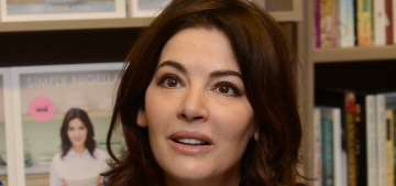 Nigella Lawson keeps soy sauce, Tabasco, chili sauce & salt by her bed
