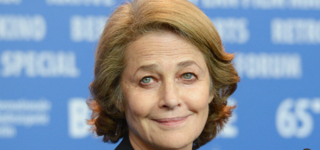 Charlotte Rampling: The 'racist against whites' comment was 'misinterpreted'