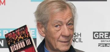 Ian McKellen: Hollywood still discriminates against gay people & black people