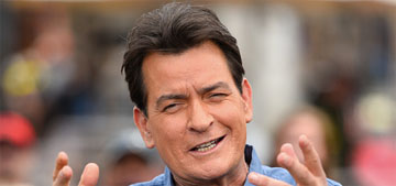 Charlie Sheen's daughters had to hear on the news that their dad had HIV