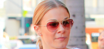 LeAnn Rimes & Eddie Cibrian step out in Beverly Hills: organized pap stroll?