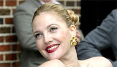 Drew Barrymore explains her tongue piercing: 'I'm a good time gal'