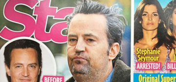 Matthew Perry's rep denies he's back on drugs, as per the new cover of Star