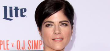 Selma Blair in Derek Lam at the 'OJ Simpson' premiere: Kris Jenner-esque?