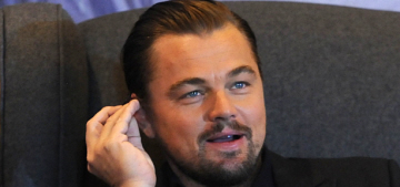Leo DiCaprio met Pope Francis: Leo cut a check & Francis gave him a book