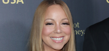 Mariah Carey flashes her 35-carat diamond at the G'Day LA event: fab or tacky?