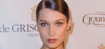 """Bella Hadid came to Paris Fashion Week to model De Grisogono jewelry"" links"
