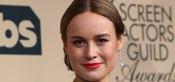 Brie Larson in blue Versace at the SAGs: ill-fitting or fabulous?