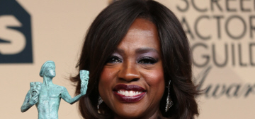 Viola Davis vs. Uzo Aduba: who wore the best Zac Posen gown at the SAGs?