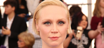 Gwendoline Christie in Lanvin at the SAGs: unflattering or not that bad?