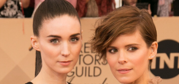 Rooney Mara v. Kate Mara at the SAGs: which sister had the best Valentino gown?